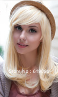 Blonde Mix Noble and generous fashion blonde wig