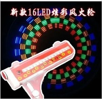 New Arrival 16LED 32Patterns Bicycle Bike Colorful LED Wheel Light Safety Warning Caution Flashing Spoke Lights