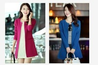 sally she HP-3 2014 hot sale spring autumn lady suit jacket fashion section four color suits