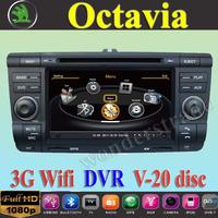 """7"""" Car DVD Player autoradio GPS for Skoda Octavia Laura + 3G WIFI + V-20 Disc + 1GB cpu + DDR 512M RAM + DVR + A8 Chipset"""