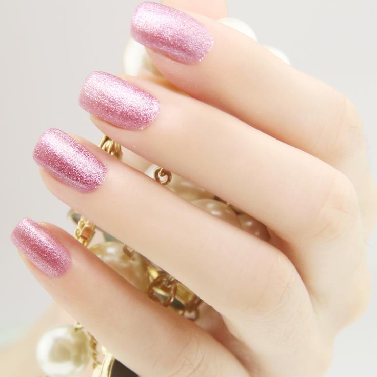 Environmental protection Sweet green nail polish sexy purple matte coldBright colours shining Beautify Nails Health innocuity(China (Mainland))