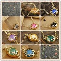 Minimum Order $20 (mixed order)  Shipping Fashion accessories Big eyes brief chain bracelets