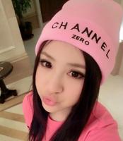 New 2013 Winter Women GD CHANNEL ZERO Harajuku Knitted Hat Fashion Korean Warm Beanie Men & Women Winter Cap For Girls