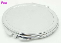 20 Pcs Blank Oval Compact Mirror DIY & Handmade Double Faced Pocket Mirror makeup - Free Shipping