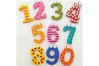 Baby Kids Educational  10 number   Alphabet   Wooden Fridge Magnet