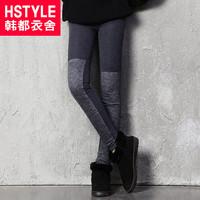 autumn women's slim legging eq2207 patchwork