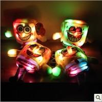 Free Shipping SpongeBob Doll Luminous Glow Toys Baby Toy Stuffed Animals Stuffed Birthday Gift Christmas Gift  WHT062