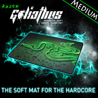 Razer Goliathus 2013 Speed Edition  Gaming mousepad, Medium size 355*254*3 mm Orignal& Brand New in BOX, Free shipping