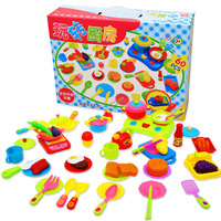 Toy set kitchen utensils sooktops 60 piece set girl toys baby