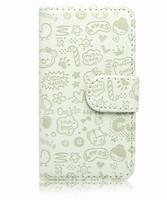 For   Lenovo a660 Multicolor  Fashion Cute Magic Girl  FLIP PU Leather case cover 1pc/lot  Free shipping