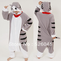 HOT Chi's Sweet Home Kitten Cat Kigurumi Pajamas Anime Cosplay Costume unisex Adult Onesie Dress Sleepwear