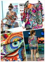 Cotton silk artificial cotton 1891 bohemia national trend diy clothes 10