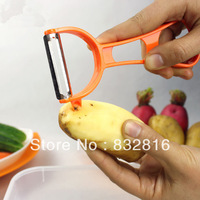 Cooking Tools Creative Multifuntion Fruit Vegetable Knife Peelers Zesters Potato Graters Shredders