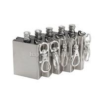 5Pcs Metal Match Lighter Gas Oil Fire Starter Keychain for Camping Outdoor H1E1