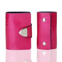 Christmas gift fashion cowhide key wallet card holder twinset gift box set