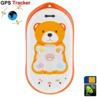 High Quality GPS GSM Cell Phone / GPS Tracker for Kid with Quad-Band, Single SIM, SOS and Ultra-low Radiation Free Shipping