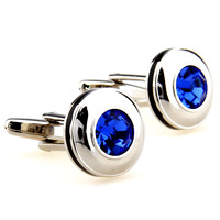 Crystal Cufflinks for men women,Blue Pink Red Purple men's designer cuff links Free shipping