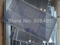 Class A 0.8Watt 6Volt Solar Cell Small Monocrystalline Silicon Solar Panel DIY Battery Charger Module Green Power Free Shipping