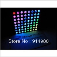 DIY 60 mm RGB LED Dot Matrix 60mm 8*8 Full Color Common anode For Arduino competible