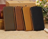 CLASSIC RETRO NUBUCK PU LEATHER CASE COVER FOR APPLE IPHONE 5C