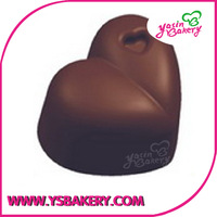 REE SHIPPING Merry Christmas Plastic Chocolate Moulds PC Chocolate Mold --Heart  28pcs/set