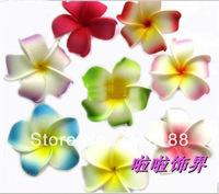 2014 Frangipani flower hawaiian Plumeria Flowers Foam Hairbands hair clip