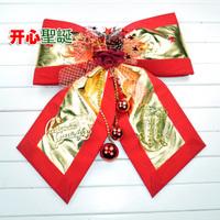 Christmas decoration christmas tree Large bow decoration pendant