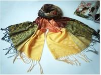 Brand New Women's Fashion Long large Soft Shawl Stole Cashmere Scarf Gradient scarf wrapsA1030