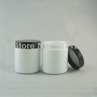 50pieces/lot High quality 100g white cream jar,cosmetic jar,glass jar or cream container,eye cream jar