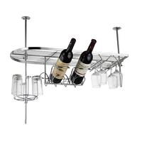 Fashion European style bar wall hanging wine rack bar wine cup  hanging holder