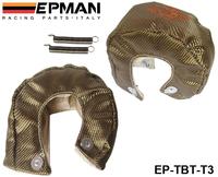 EPMAN RACING - Universal Titanium T3 Turbo Heat Shield Blanket - Race Rally Drag Drift EP-TBT-T3