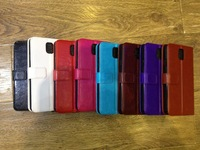 For Galaxy Note 3 Case,Wallet Leather Case for Samsung Galaxy Note III With Card Slots,High Quality,Free Shipping 1pc