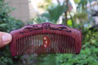 Violet wood Comb Rosewood Comb High grade Healthy wood hair Comb