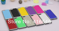 10pcs/lot free shipping Luxury Bling Diamond Crystal Star Hard Case Cover for Apple iPhone 5C Back Phone Cover