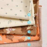 Fabric for Patchwork,Handmade Cloth,DIY Handbag Cushion Pillow Curtain,8111-444HF, 45x50cm/17.7x19.7inch/piece