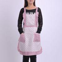 Free shipping latest design cotton cloth apron Korean aprons the fashion  apron kitchen apron