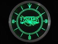 nc0513 Philadelphia Eagles Neon Sign LED Wall Clock Wholesale Dropshipping