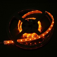 IP66 Waterproof 1M SMD 3528 LED Strip Light 60 LED Yellow DC 12V 4.8W