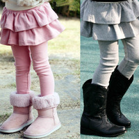 Children's clothing 2013 female child spring and autumn fashion child cotton skorts