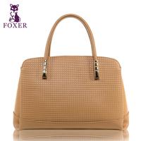Wolsey women's handbag embossed fashion handbag fashion all-match women's cowhide bags