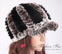 free shipping fashion women hats real mink fur woven caps new mink fur hat