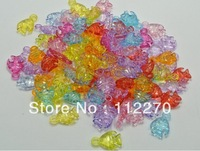 200pcs 17*11MM Free shipping Transparent DIY Tropical fish beads Pendants DIY Accessory