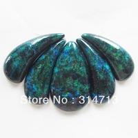 (Min.order 10$ mix)Beautiful 5pcs Lapis Lazuli with Chrysocolla Pendant Bead Set