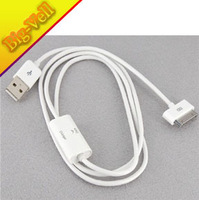 Free Shipping 1m Extension USB Charger Cable for Apple Tablet PC iPad (White)