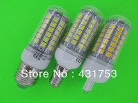 NEW 85V-265V/AC 5050 69 LED Lamp 12W E27 E14 G9 LED Corn Bulb  Cold white / Warm White 360 Degree Light Bulb Lamp Energy Saving