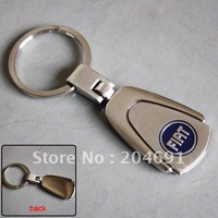 Trapezoid Car Key Chains Ring With Car Logo With Gift Box For Fiat From Onine