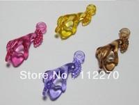 100pcs 11*26mm Free shipping Transparent DIY hand beads Pendants DIY Accessory