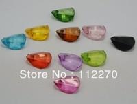 200pcs 13*9mm Transparent DIY petal beads Pendants DIY Accessory Free shipping