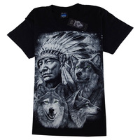 Hot-selling 2013 male stereo 3dt print short-sleeve cotton casual fashion loose plus size