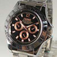 Fashion Brand Watches Quartz Watch Tungsten Steel Rose Gold Watches 008 Free Shipping 2013